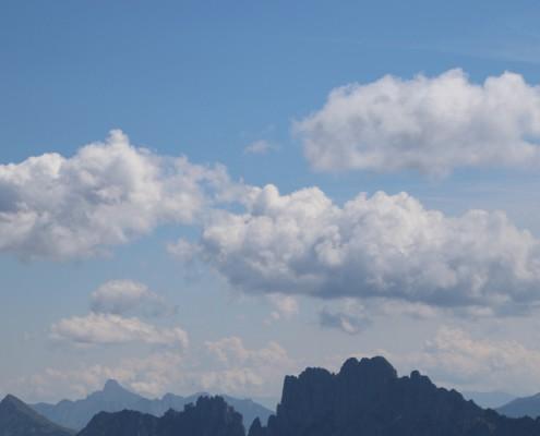 nuages sur les Gastlosen
